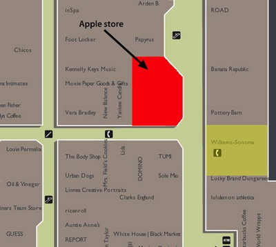 apple store bellevue square map