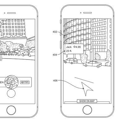 uber ar patent