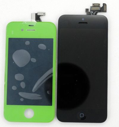 iphone 2012 4s side by side front panels