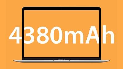 MacBook Air Battery Feature