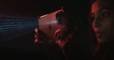 iphone 12 pro lidar scanner video