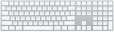 apple wireless magic keyboard numeric keypad