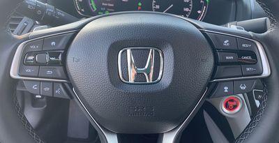 accord hybrid steering wheel