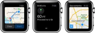 Apple Watch Apple Maps 1