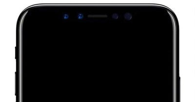 iphone 8 front camera concept