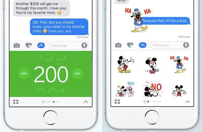 iMessage apps 2