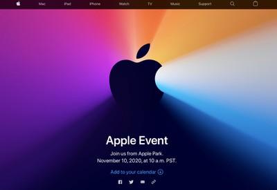 apple event website november 10