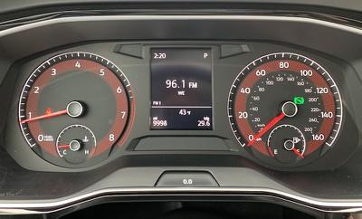 jetta driver display