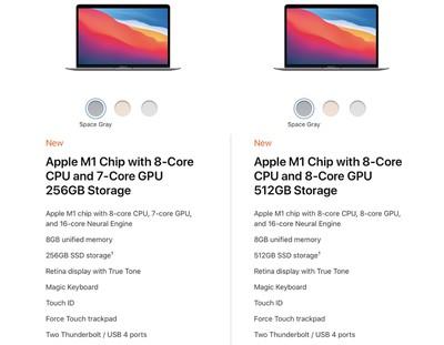macbook air m1 models