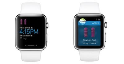 WebMD apple watch