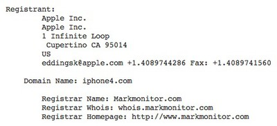 iphone4com whois