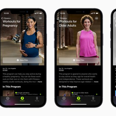 Apple iphone12 apple fitness plus workout for pregnancy and older adults and beginners 041521 big