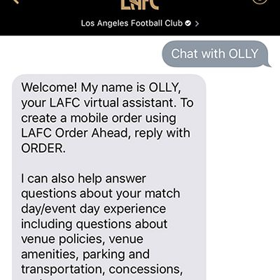 lafc apple business chat