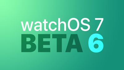 watchOS dev beta 6 Feature