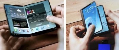 samsung bendable phone