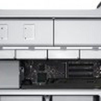 mac pro 2010 side top half