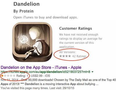 Dandelion 1 star