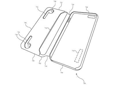 airpods iphone case patent folio