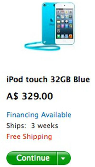 ipod touch 3 weeks