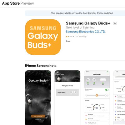 galaxy buds ios app store preview