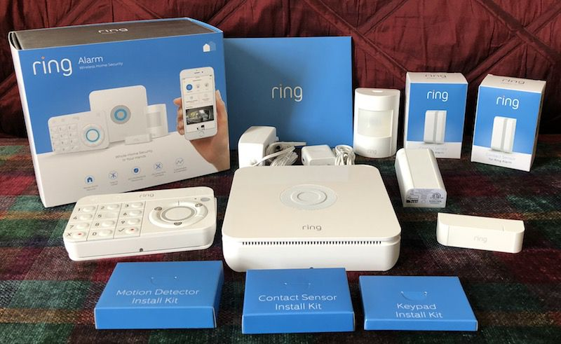 Review Ring Alarm Is A 199 Do It Yourself Home Security System