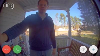 ring video doorbell 2 answering