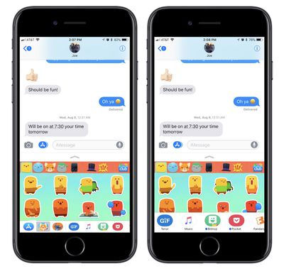 how to messenger app drawer 1