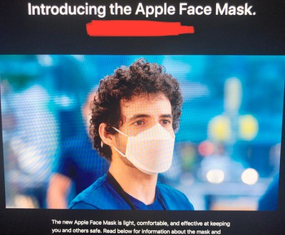 Apple's ClearMask is first FDA-approved transparent surgical face mask for coronavirus
