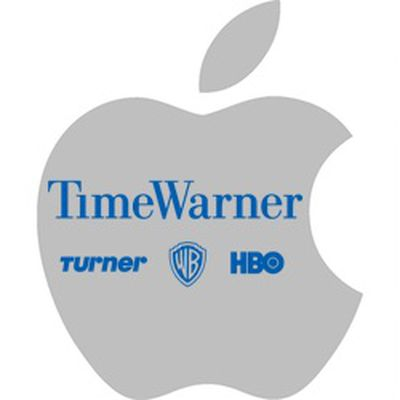 apple logo time warner