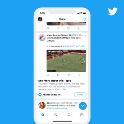 twitter topics feature