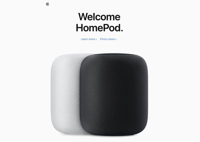welcome homepod india