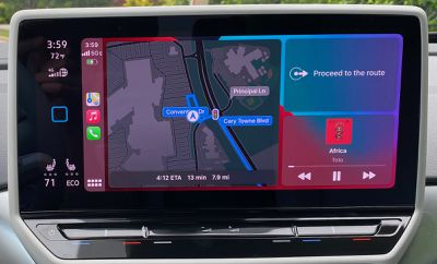 2021 vw id4 carplay dashboard