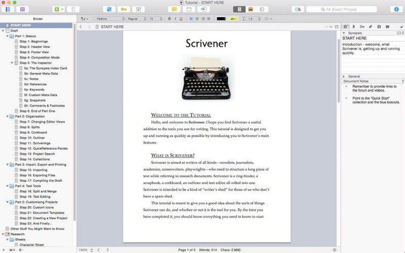 Scrivener mac