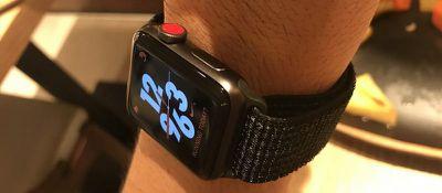 nike apple watch s3 apce gray aluminum