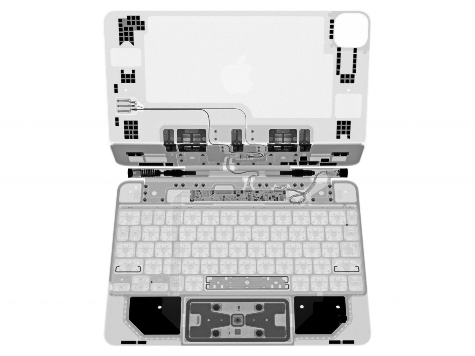 An X Ray View Of Apple S Magic Keyboard For Ipad Pro Macrumors