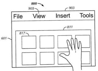 132133 touch interface
