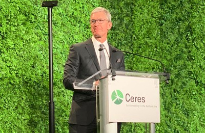 tim cook ceres gala october 2019