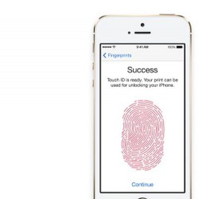 touch id finger