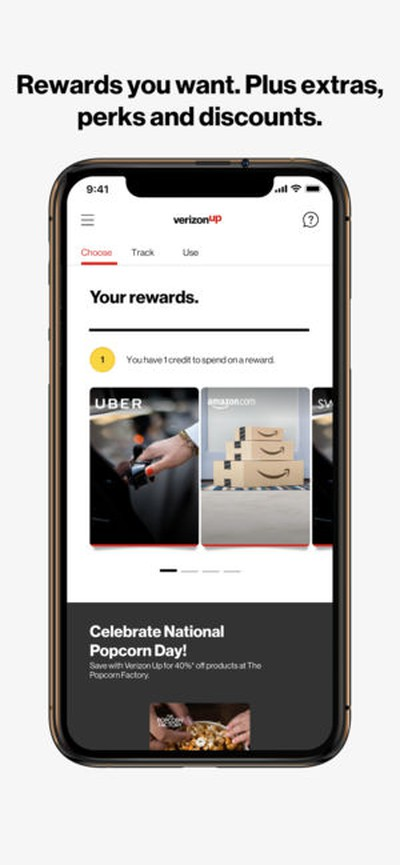 verizon rewards