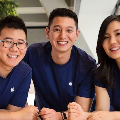 apple employees trio
