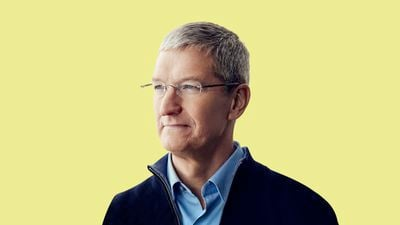 Tim Cook Feature Yellow