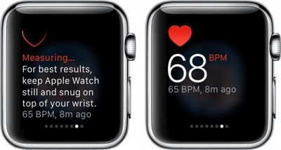 Apple Watch Heart Rate Monitor 1