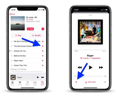 add apple music to your library 1