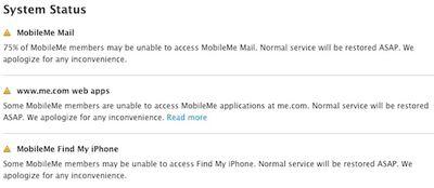 mobileme status down 92911