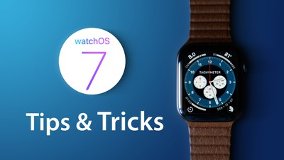 watchOS7 tips and tricks