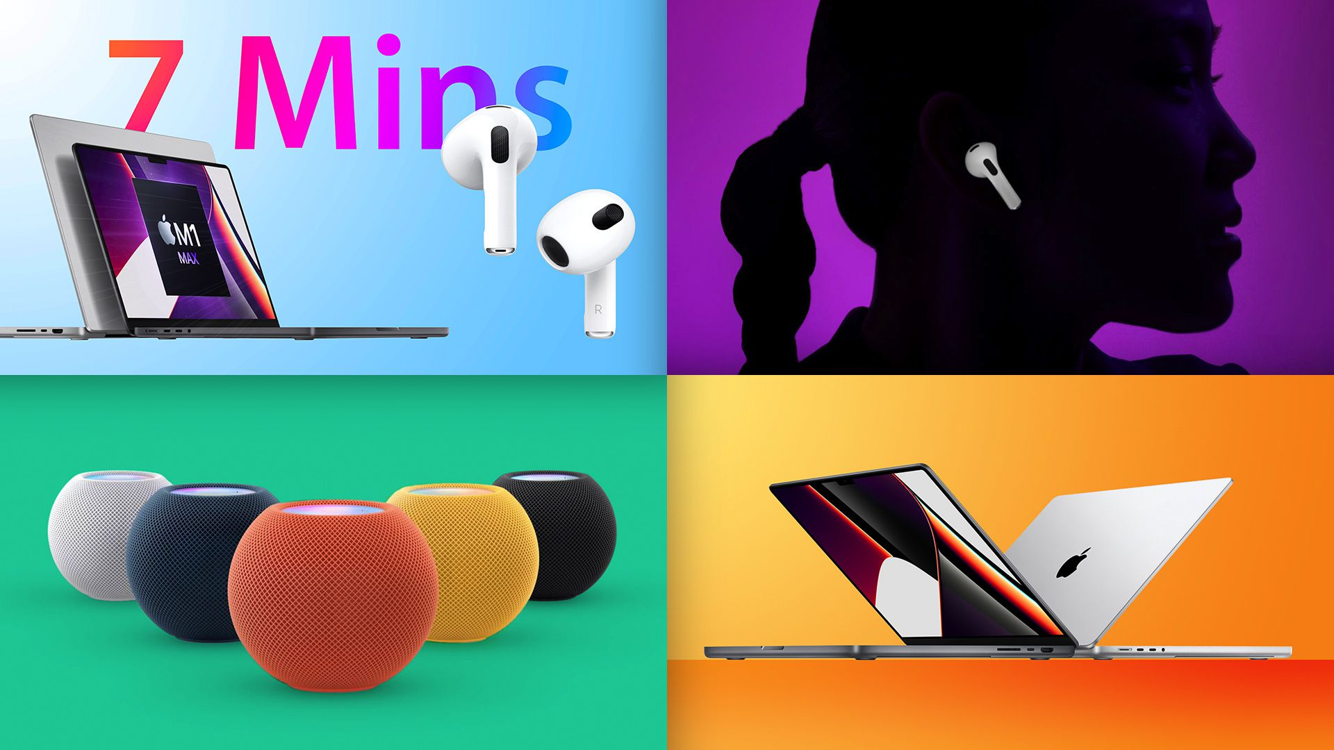 Top Stories: Apple Event Recap – New MacBook Pro, AirPods 3, and More