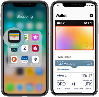 wallet app apple card