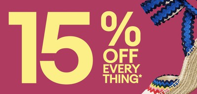ebay 15 percent spring