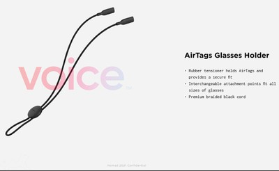 airtags glasses holder nomad