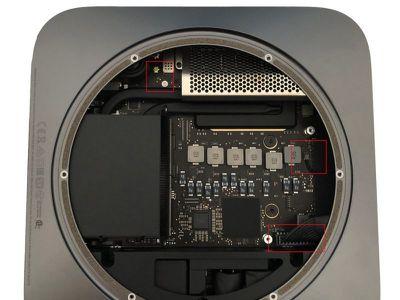 mac mini 2018 memory upgrade ifixit